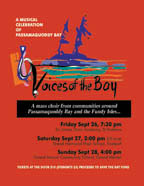 Voices of the Bay Choral Festival poster