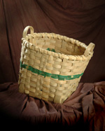 Passamaquoddy herring scale basket